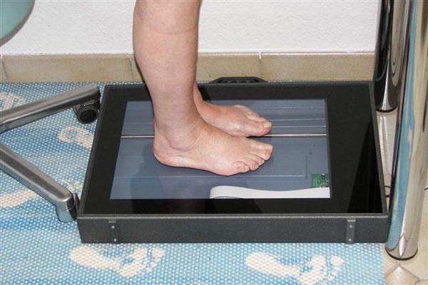 Orthopädische Maßeinlagen anfertigen