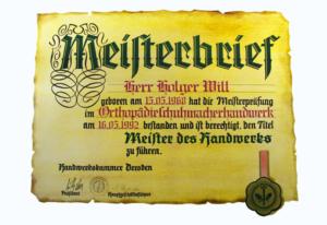 Meister Orthopädieschuhtechnik Dresden Holger Will