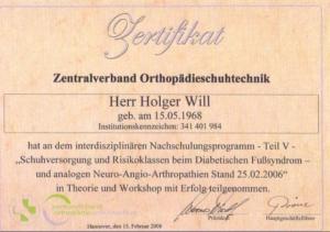 Zentralverband Orthopädieschuhtechnik Dresden Holger Will